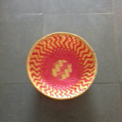 Bamboo fruit basket round(#1361)-gallery-0