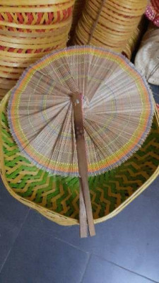 Bamboo hand fan(#1370)-gallery-0