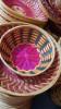 8 inch round bamboo basket(#1372) - getkraft.com