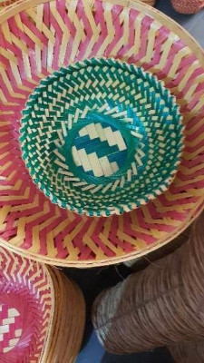 9 inch bamboo basket moulding(#1375)-gallery-0