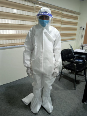 90 GSM Laminated PPE kit(#1397)-gallery-0