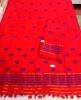 Assamese Staple Cotton Orange Mekhela Chador P5(#1405) - getkraft.com