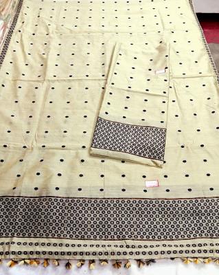 Assamese Staple Cotton Mekhela Chador P6(#1407)-gallery-0