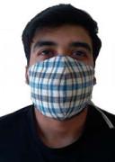 Double Layered VV Handloom Designer Masks by Khamir p1(#1412) - getkraft.com