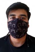 Double Layered VV Handloom Designer Masks by Khamir p2(#1413) - getkraft.com