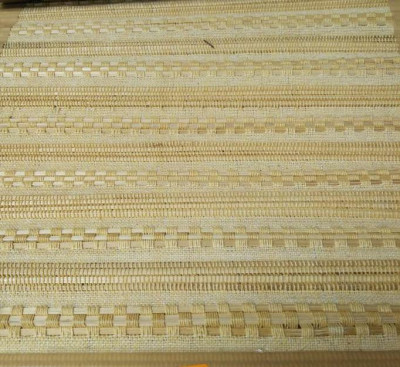 Handwoven Plain Natural Bamboo Floor Mat(#1417)-gallery-0