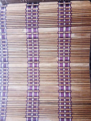 Woven Bamboo Roll Up Window Blind(#1418)-gallery-0