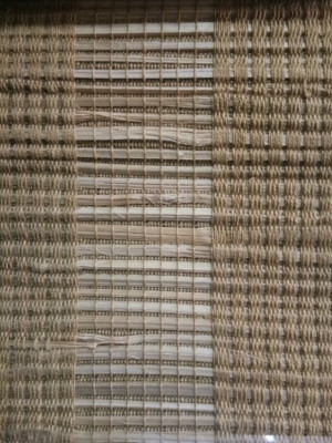 Bamboo and Jute natural weaved window blind(#1424)-gallery-0