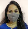 Eri Silk Organic naturally dyed Face Mask(#1436) - getkraft.com