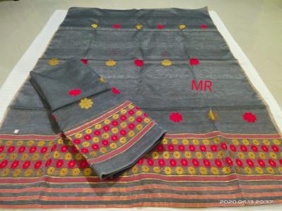 Assamese Nooni Cotton Mekhela Chador P19(#1449)-gallery-0