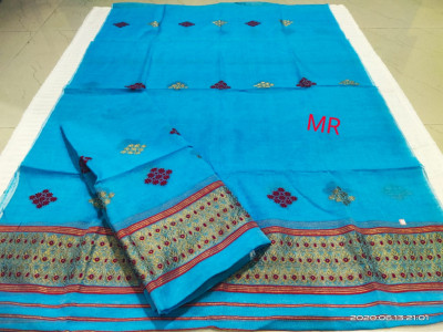 Assamese Nooni Cotton Mekhela Chador P24(#1454)-gallery-0
