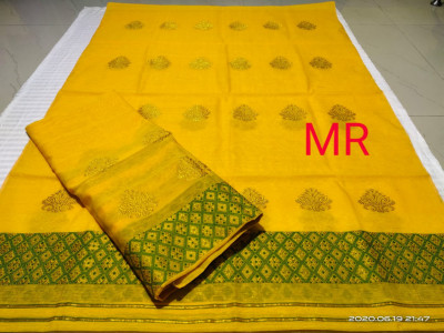 Assamese Nooni Cotton Mekhela Chador P30(#1461)-gallery-0