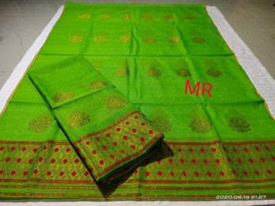 Assamese Nooni Cotton Mekhela Chador P31(#1462)-gallery-0