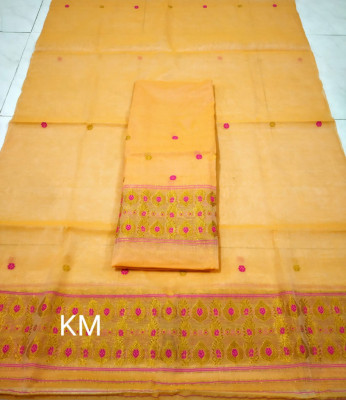 Assamese AC Cotton Mekhela Chador P42(#1473)-gallery-0