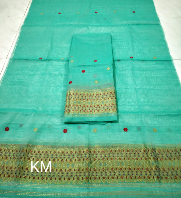 Assamese AC Cotton Mekhela Chador P43(#1474)-gallery-0