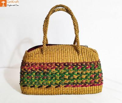 Natural Straw Handbag BG008(#148)-gallery-0