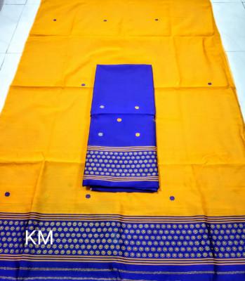Assamese Staple Cotton Mekhela Chador P52(#1482)-gallery-0
