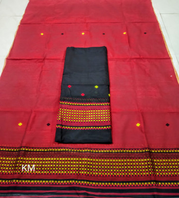 Assamese Staple Cotton Mekhela Chador P57(#1485)-gallery-0