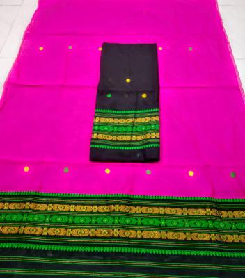 Assamese Staple Cotton Mekhela Chador P56(#1487)-gallery-0