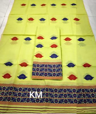 Assamese AC Cotton Mekhela Chador P62(#1491)-gallery-0
