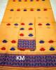 Assamese AC Cotton Mekhela Chador P66(#1495) - getkraft.com