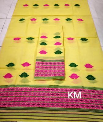 Assamese AC Cotton Mekhela Chador P68(#1497)-gallery-0