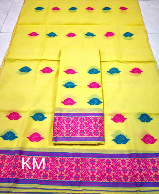 Assamese AC Cotton Mekhela Chador P70(#1499)-gallery-0