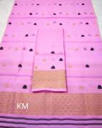 Assamese AC Cotton Mekhela Chador P78(#1506) - getkraft.com