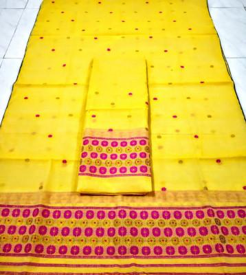 Assamese AC Cotton Mekhela Chador P80(#1508)-gallery-0