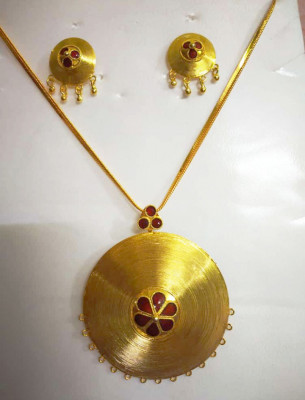 Assamese Traditional Japi Jewellery for Women(#1522)-gallery-0