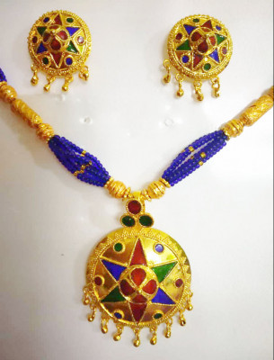 Assamese Traditional Japi Jewellery for Women(#1523)-gallery-0