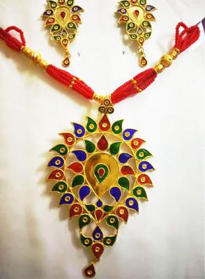 Assamese Traditional Doogdoogi Jewellery for Women(#1527)-gallery-0