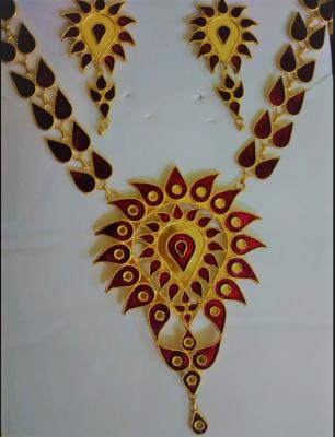 Assamese Traditional Doogdoogi Jewellery For Women(#1531)-gallery-0