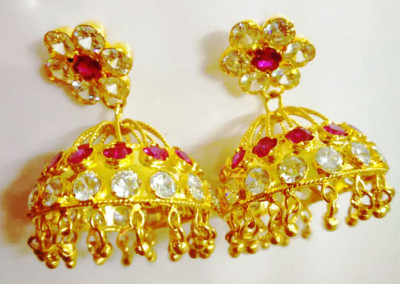 Assamese Traditional Earrings For Women(#1533)-gallery-0