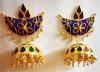 Assamese Traditional Jonbiri earrings For Women(#1534) - getkraft.com