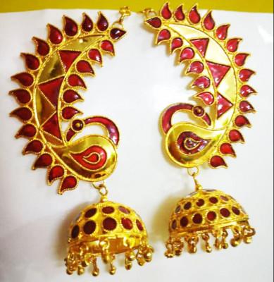 Assamese Traditional Loka paro earrings For Women(#1535)-gallery-0