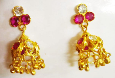 Assamese Traditional Earrings For Women(#1536)-gallery-0