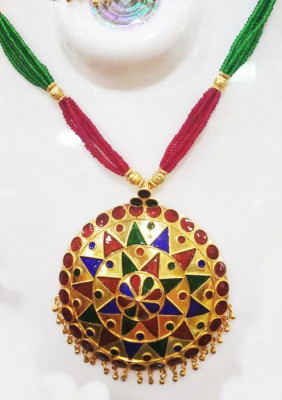 Assamese Traditional Japi Jewellery for Women(#1543)-gallery-0