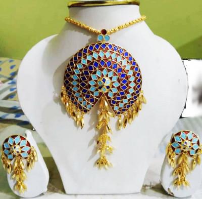 Designer embellished Japi Jewellery Set for Women(#1545)-gallery-0