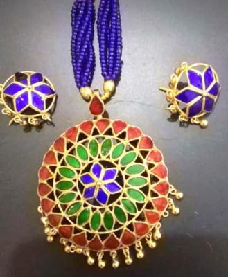 Designer Japi embellished Jewellery Set for Wome(#1550)-gallery-0