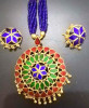Designer Japi embellished Jewellery Set for Wome(#1550) - getkraft.com