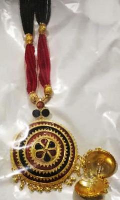 Ravishing Japi Pendant and Earrings for Women(#1551)-gallery-0