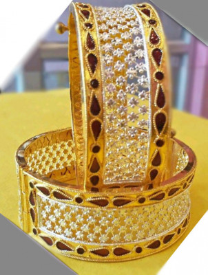 Golden MuthiKharu - Bangles For Women(#1564)-gallery-0