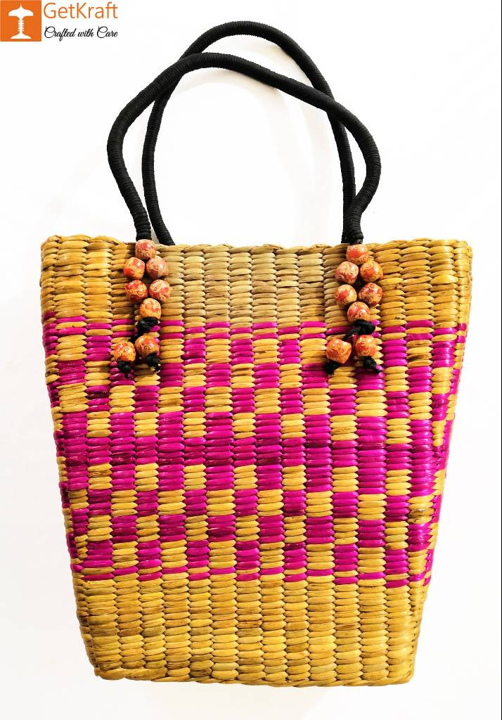 Natural Straw Handbag BG028(#159)-gallery-0