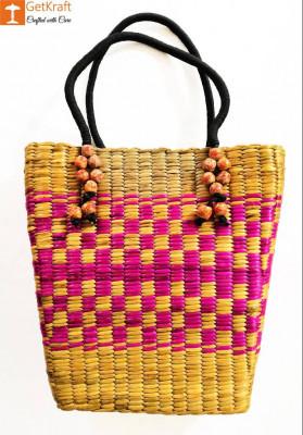 Natural Straw Handbag BG028(#159)-gallery-0