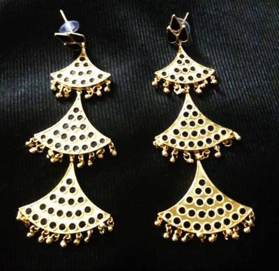 Silver Gagori Earrings for Women(#1594)-gallery-0