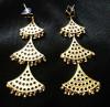 Silver Gagori Earrings for Women(#1594) - getkraft.com