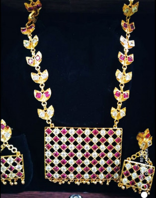 Mass Jewellery Studded with precious stones for Women(#1606)-gallery-0