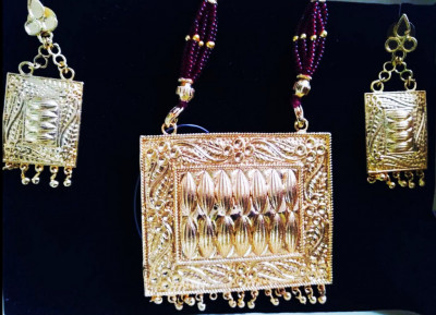 Silver Traditional Mass Jewellery for Women(#1607)-gallery-0