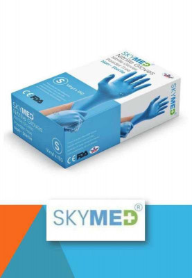 Skymed Nitrile Gloves Powder Free Non Sterile(#1645)-gallery-0